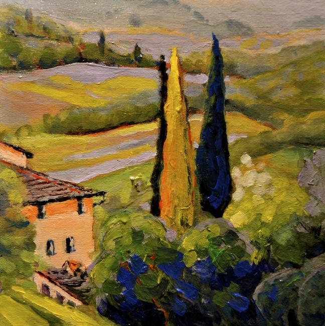 San Gimignano Sojourn Series 2