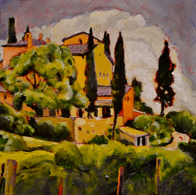 San Gimignano Sojourn Series 4