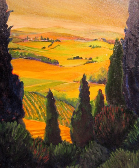 View From Il Borghetto